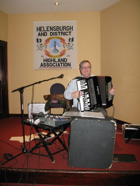 Stewart McKeown on Accordion