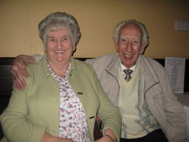 Finally, Happy Birthday Wishes to Tommy MacClellend, a long standing, highly respected, member of the association,, pictured with his Wife , Nancy.