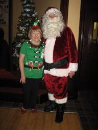 No Show without Punch...I Mean Santa and his Elf............