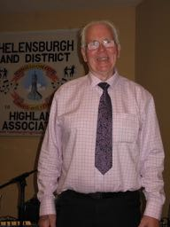 New Association President, Mr Neil MacLeod